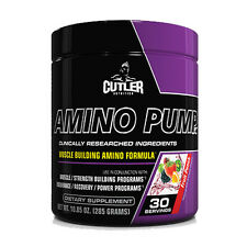 Cutler Nutrition Amino Pump 30 Servings (Brand New Sealed)