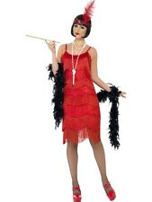 ADULT WOMENS FLAPPER SHIMMY COSTUME SMIFFYS 1920'S RAZZLE FANCY DRESS - 3 SIZES