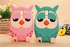 3D Owl Cartoon Animal Silicone Phone Case Cover for Samsun Galaxy S4 9500
