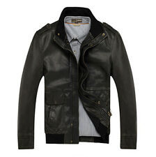 AFS JEEP Spring Autumn Winter Leather New Men Jacket Coat 2014