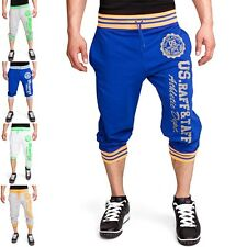 MEN'S CAPRI PANTS Shorts Casual trousers Sweat pants Tracksuit bottoms NEW