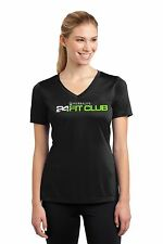 Herbalife 24 Fit Club. Dry Fit. Black T Shirt for Women.