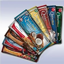 QUEST BARS (3-PACK) high-fiber, high-protein, low-carb, low-sugar, gluten-free