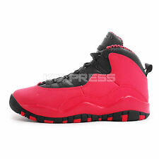 Nike Girls Air Jordan 10 Retro GS [487211-605] Basketball Fusion Red/Black