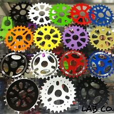 NEW 25T 28T SPROCKET BLACK BLUE GREEN ORANGE WHITE PURPLE RED BMX BIKE SPROCKET