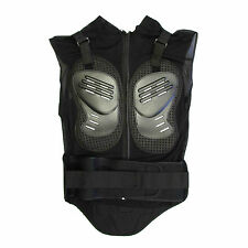 Motorcycle MX Body Armor Jacket Vest Spine Chest Shoulder Protection Riding Gear