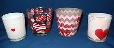 YANKEE CANDLE VALENTINE HEARTS & LOVE TEA LIGHT & VOTIVE HOLDER-YOU CHOOSE!