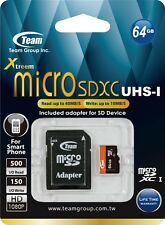 16GB 32GB 64GB Micro SDHC SD UHS-I  Class 10 w/ Adapter Memory Card Phone Tablet