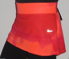 NWT Nike Women's Knit Printed Running Skirt/Shorts Size M/L Pimento/Crimson