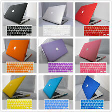 "2in1 Kit Rubberized Hard Case Shell+Keyboard Cover For Macbook Pro/Air 11""13""15"""