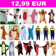 Hot unisexe adulte Pyjamas Kigurumi Cosplay Onesie animaux de nuit robe