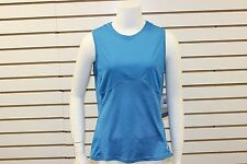 Brooks Woman's Hvac Pulse Synergy Sleeveless Tank Mediterranean New WITHOUT Tag