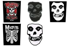 Misfits Sew On Back Patch/Patches NEW OFFICIAL. Choice of 5 designs