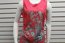 Brooks Woman's Equilibrium Technology Hvac Synergy Sleeveless Tank Top Rouge