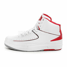 Nike Air Jordan 2 Retro [385475-102] Basketball White/Black-Red-Grey
