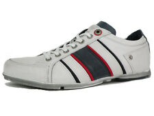 Levi's Mens Leather Shoes White Casual Trainers 218261-700 Sneakers