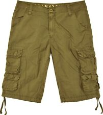 """Stonetouch Mens #818S Cargo Shorts in Sizes 30 to 42, 100% Cotton, 13"""" Inseam"""