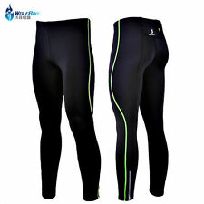 NEW Mens Thermal Cycling Tights Padded Cycle Trouser Bike Long Pants Wear