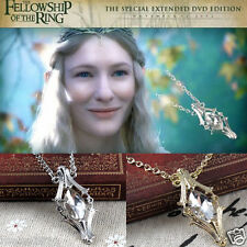 The Hobbit Phial Of Galadriel Necklace Lord of The Rings Inspired Pendant Chain