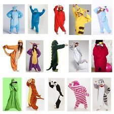 Unisex Pajamas NEW Kigurumi Anime Animal Sleepwear Cosplay Costume Romper Pyjama