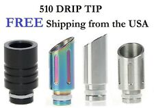 Pick Your 510 Drip Tip for Atomizer, Clearomizer, or Cartomizer - Muffler Style
