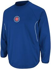 Chicago Cubs Majestic Authentic Therma Base Tech Fleece Blue Big & Tall Sizes