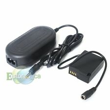DMW-AC8 AC Power adapter + DMW-DCC8 DC Coupler For Panasonic Lumix DMC-GH2 GH2K