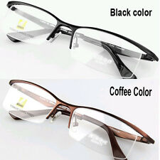 Fashion Pure Titanium Semi-Rim Glasses Frame AV9880 Prescription optical frame