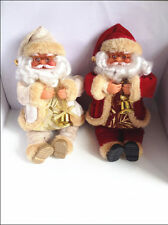 "25cm/10"" Christmas gift santa claus doll plush toy New Year gift High quality"