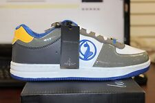 Baby Phat STEPH Women's Gry/Ryl/Gld Lace Up Comfort Fashion Sneakers