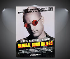 Natural Born Killers Vintage Movie Poster - A1, A2, A3, A4 Sizes