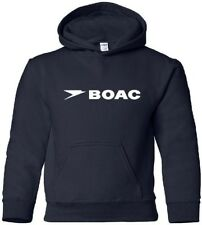 BOAC Retro British Airline Logo HOODY