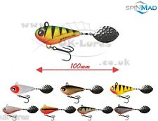 SpinMad TAIL SPINNER JIG MASTER 24g,   VAR. COLOURS   PERCH, CHUB, BASS UK-Lures