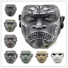 Skull Airsoft Paintball Gun Game Hunting Biker Ski Full Face Protect Mask Guard