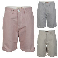 Mens Tokyo Laundry Maurice Rolled Up Knee Length Chino Tailored Shorts Size S-XL