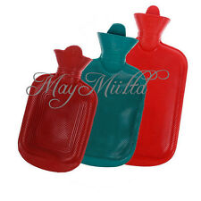 Rubber Warmer Relaxing Home Outdoor Camping Heat Hot Cold Water Bag Bottle LW