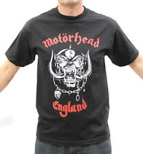 Motorhead Thrash Metal Band Embroidered Graphic T-Shirts