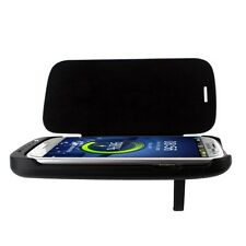 3200mAh Extended Battery Pack Case Leather Flip Cover For Samsung Galaxy S3 i717