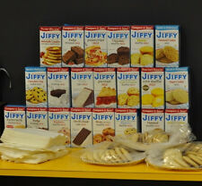 Jiffy Mix Muffin Frosting Pizza Cake Pie Corn Brownie Mix  (2, 4, 6, or 8 boxes)