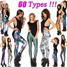 Women Sexy Zebra Vertical Stripped Stretchy Leggings Tights Pencil Skinny Pants