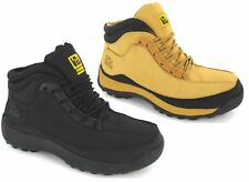 MENS LADIES SAFETY STEEL TOE CAP WORK BOOTS SHOES TRAINERS UK SIZE 3-13 HONEY