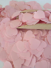 Baby Pink Baby Shower Decoration Heart Confetti Wedding Scatters Shabby Chic