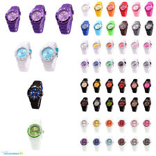 sv24 Wristwatch Silicone Watch Women Men Colourful Watches Colour Model Choice