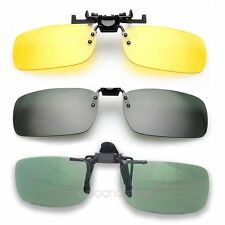 Practical Day Night Vision Clip-on Lens Sunglasses Turner Driving Glasses