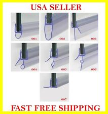 PLASTIC SEAL STRIP FOR SWINGING , SLIDING FRAMELESS BATH & SHOWER DOOR