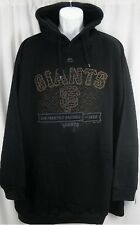 San Francisco Giants Majestic Black Hood Scrape Hoodie Men Big And Tall Sizes