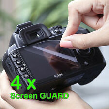 4 x Camera LCD Screen Protector Guard For Canon Camera