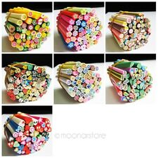 50pcs 3D Nail Art Sticks Tips Canes Stickers Beauty Nail Accessories Supplies