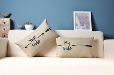your side my side pillow cover pillow sham cushion cover cushion case pillowcase