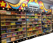ONE BOX OF MOVIE THEATRE CANDY (ASSORTED FLAVORS) A-L